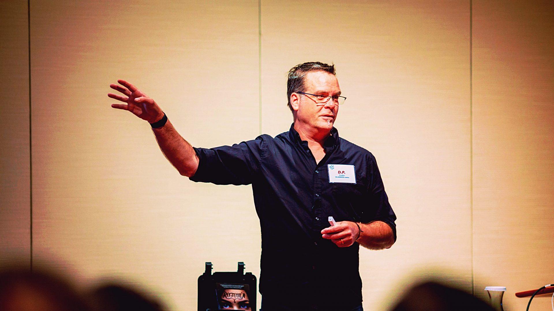 D.P. KNUDTEN • COLLABORATOR creative • Keynote Speaker / Author